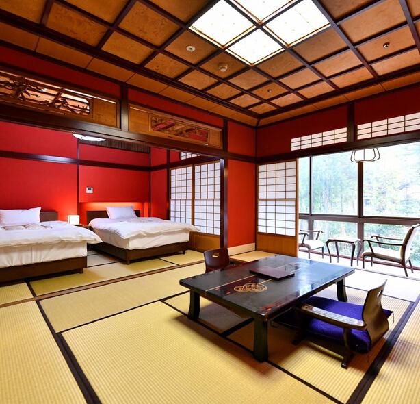 Отель с 1300-летней историей Hoshi Ryokan